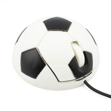 New fashion original football shaped  USB Wire mouse for Laptop PC Computer Notebook Hot Sale Free shipping(China (Mainland))