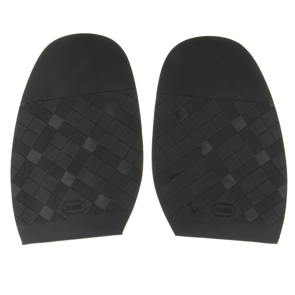 1 Pair Rubber Half Soles Taps Pads Anti Slip Shoe Repair Supplies