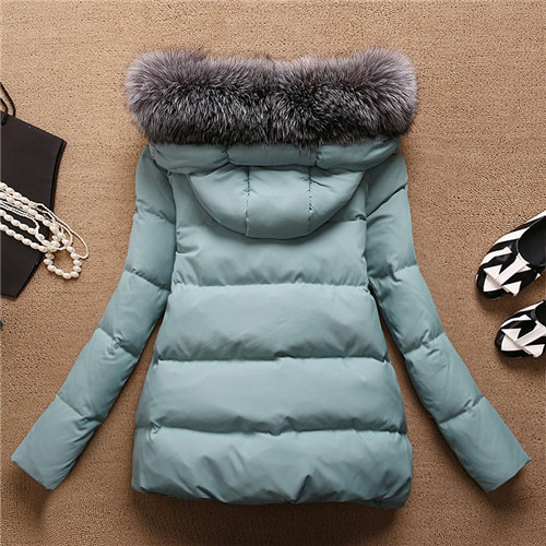 Women\`s Winter Jacket Women 2015Thick Warm Jackets And Coats A Word Parkas Fur Collar With Hood Coat Female Plus Size XXL 5Color (4)