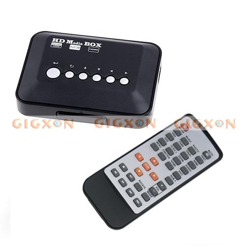 Multi TV Media Player HDMI 1080P HD USB SD MMC RMVB MP3 AVI MPEG Divx MKV(China (Mainland))