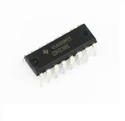 5pcs CD4026 CD4026BE 4026 IC CMOS Counters Decade/Divider DIP-16(China (Mainland))
