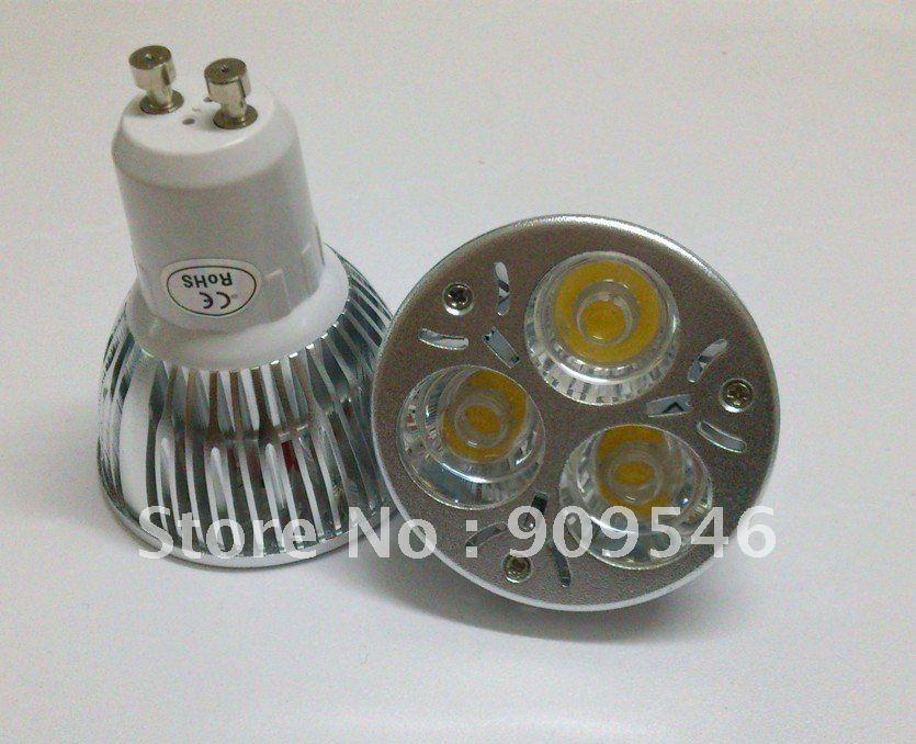 GU10 E27 E26 GU5.3 DIMMABLE 9w CREE LED Chip LED Spot Light Bulb Spotlight Spot Lamp 580-600lm<br><br>Aliexpress