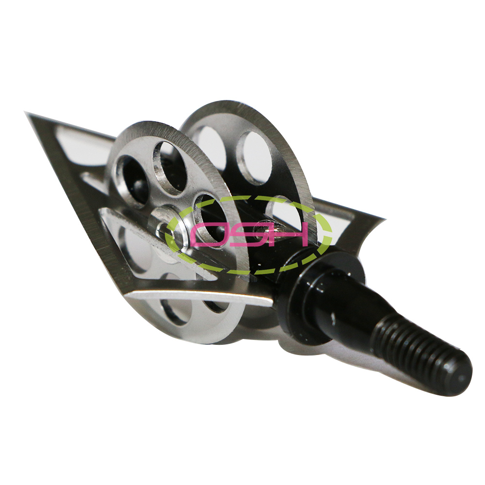 Free Shipping 3 Pcs Bows And Arrows Hunting Broadhead Tips 100 Grain Hot Wheels Archery Arrow