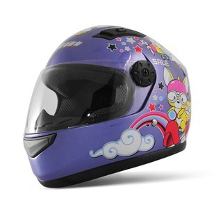 T866 Children's Motorcycle Helmet Cartoon Safety Cute Full Face Kids' Helmets 5 colors S7100 - E-Level Gift Limited store