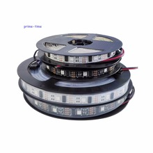 Buy 5v WS2801 32led/m smd 5050 rgb digital addressable led strip;programmable ws2801 ic 32 pixel/m black/white pcb 5m/lot for $26.39 in AliExpress store