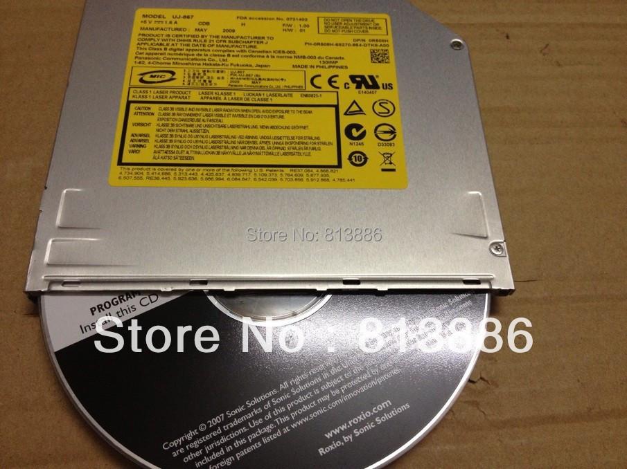 original new Super slim slot loading UJ-857 UJ-867 HL GSA-S10N for MacBook A1181 Macbook use(China (Mainland))