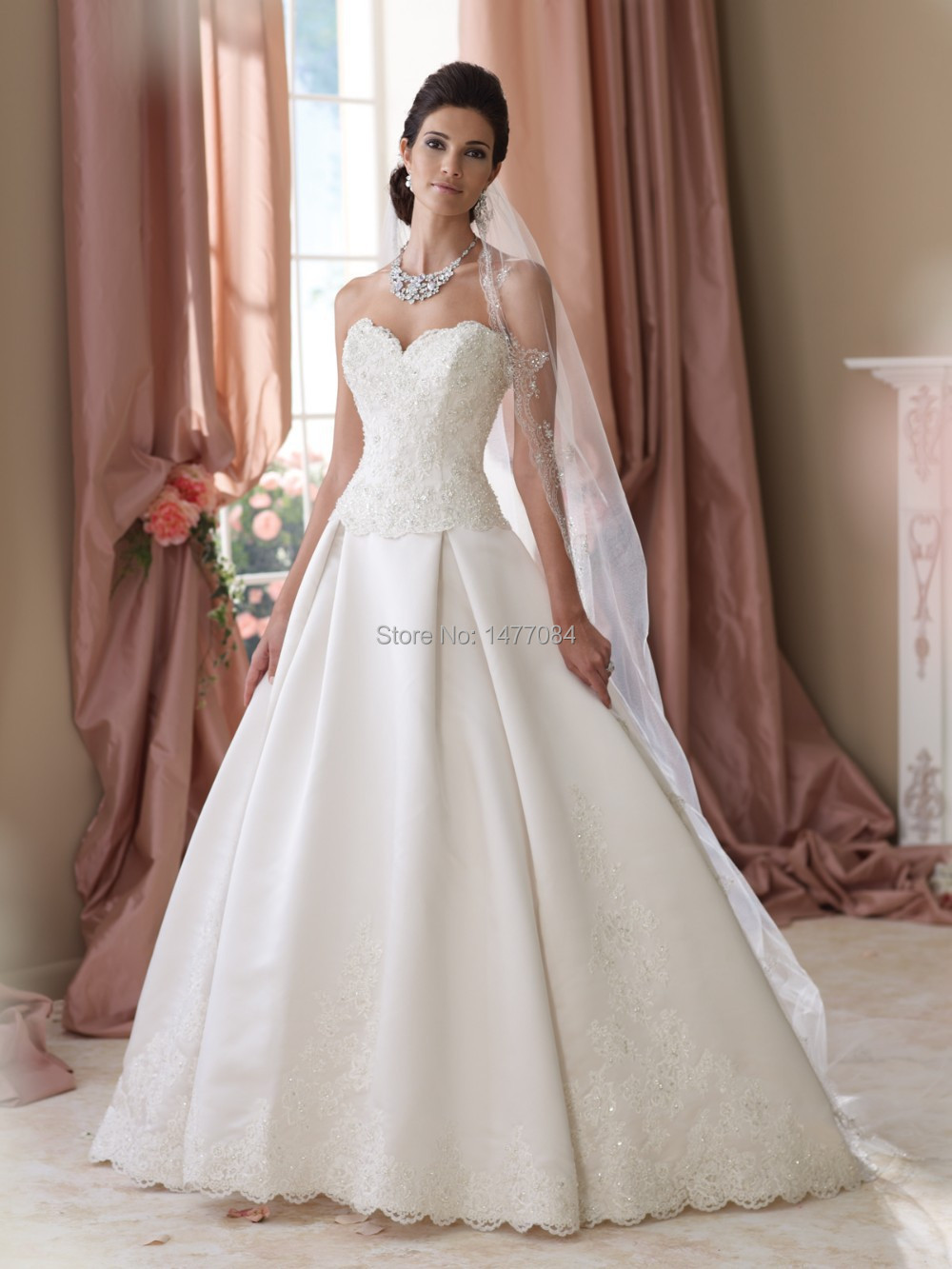 Popular detachable skirt wedding dress buy cheap for Unique wedding dress styles