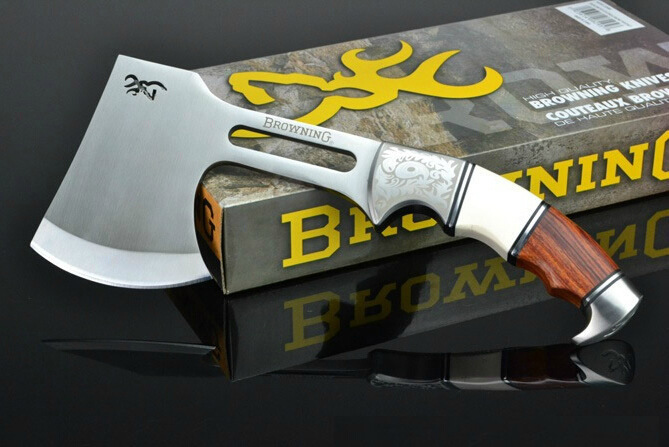 Browning Outdoor Survival Camping High Carbon Steel AXE Hunting Camping Fire Axe Hacha Tool Mountain-cutting <br><br>Aliexpress