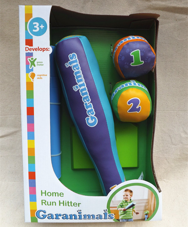 Baby outdoor toys Brand of US baby boys baseball set toys kid fitness spot outdoor games(China (Mainland))