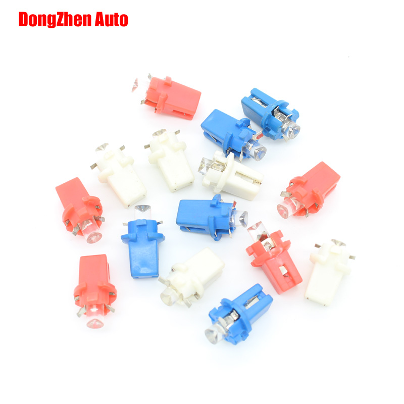 2015 NEW 10X T5 B8.3D 1 LED car led light boat bulb auto Instrument lamp speed table console light bulb Packing Car Styling(China (Mainland))