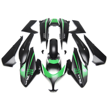 Зализах для Yamaha XP500 тмах 500 08 09 10 11 2008 — 2011 ABS пластик мотоциклов обтекателя Kit кузов капоты монстр черный зеленый