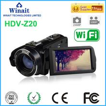 Buy Freeshipping 16x digital zoom 24MP video camera DV HDV-Z20 1080p/30fps Full HD digital video camcorder built-in Speaker for $105.99 in AliExpress store
