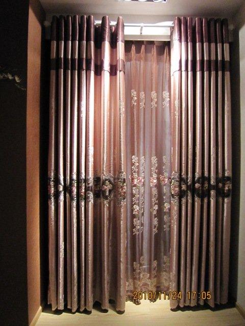 Custom made window curtain 2011 luxury style freeshipping for Custom made window curtains