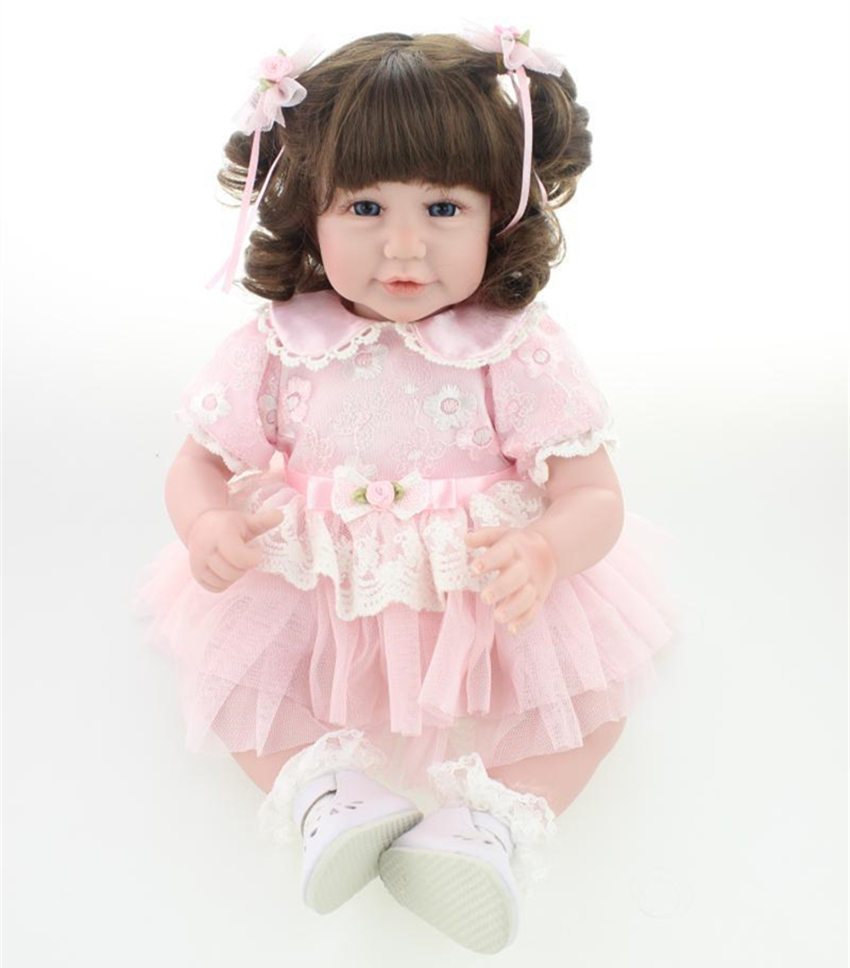 Здесь можно купить  20 inch lovely reborn baby dolls kids with lovely princess clothes gift toy doll for little girls  Игрушки и Хобби