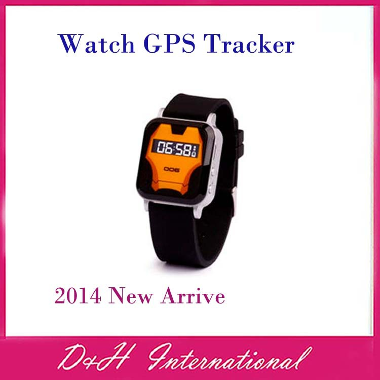 Hot sell Child kind High quality Watch Wristwatch Tracker GPS GSM Quad Band personal tracker Enough small Enough hidden(Hong Kong)