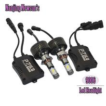1Set 9006 HB4 Auto Led Headlights Bulb Kit H10 9005 HB3 Automotive Accessories Car-styling Led Light Source Plug&Play Lamp Bulbs(China (Mainland))
