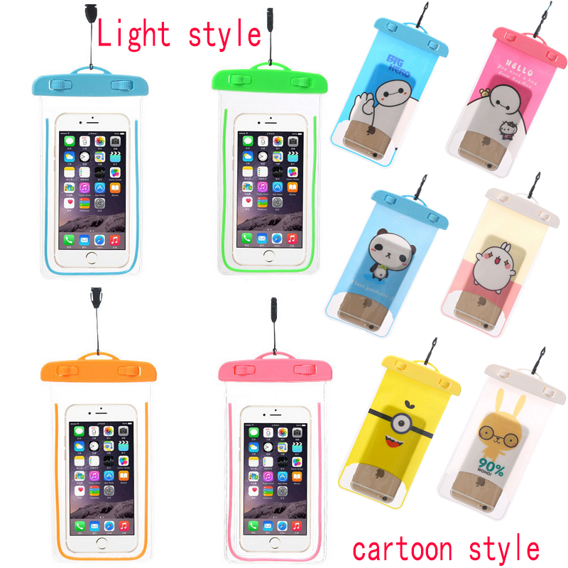 New Clear Waterproof Pouch Dry font b Case b font Cover For 6 0 inch font
