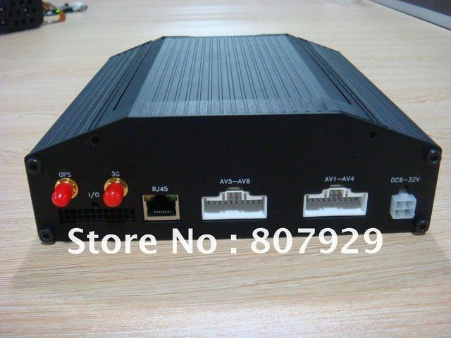 4CH H.264 compression Mobile DVR UP to D1, With  3G ,GPS,wifi ,Support HDD,SD CARD MEMORY