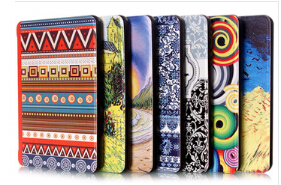 New Fashion 7 style good quality Magnet colorfull printing smart cover case for amazon Kindle Paperwhite case 2012 2013 6(China (Mainland))