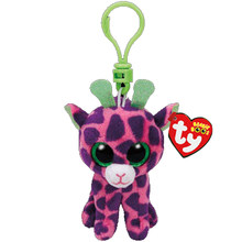 """Boneca de Brinquedo Vaias Ty Gorro Olhos Grandes de Pelúcia Chaveiro Fox Coruja Cão Unicorn Pinguim Girafa Macaco Leopardo Dragão 4"""" 10 cm(China)"""