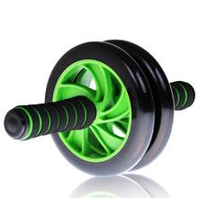 Ab ролик тренировка ролик двойной колесо упражнения ролик электропитание ролик для всех взрослые тренер электропитание колеса