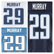 29 DeMarco Murray jersey white navy blue Stitched sport shirts size M-XXXL can mix order(China (Mainland))