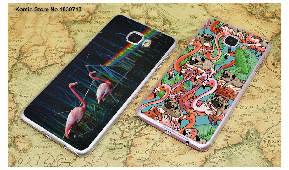 da1660b46 Funny animal my pink flamingo good vibes transparent clear hard case ...