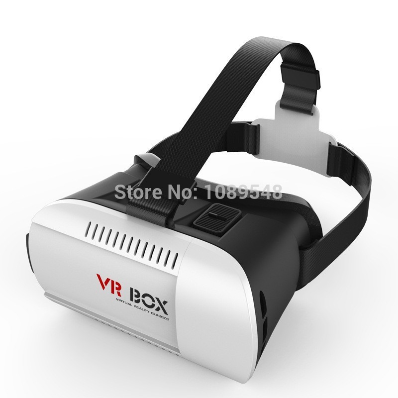 VR BOX Virtual Reality Glasses 3d Movies Games for 4.7″ – 6.0″ Smart Phone Professional Cardboard Bluetooth Wireless Control