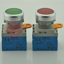 [SA]Original 22mm metal ring flat button switch A22R-F * -10A self-locking 1NO--1 - MIKI HO's store