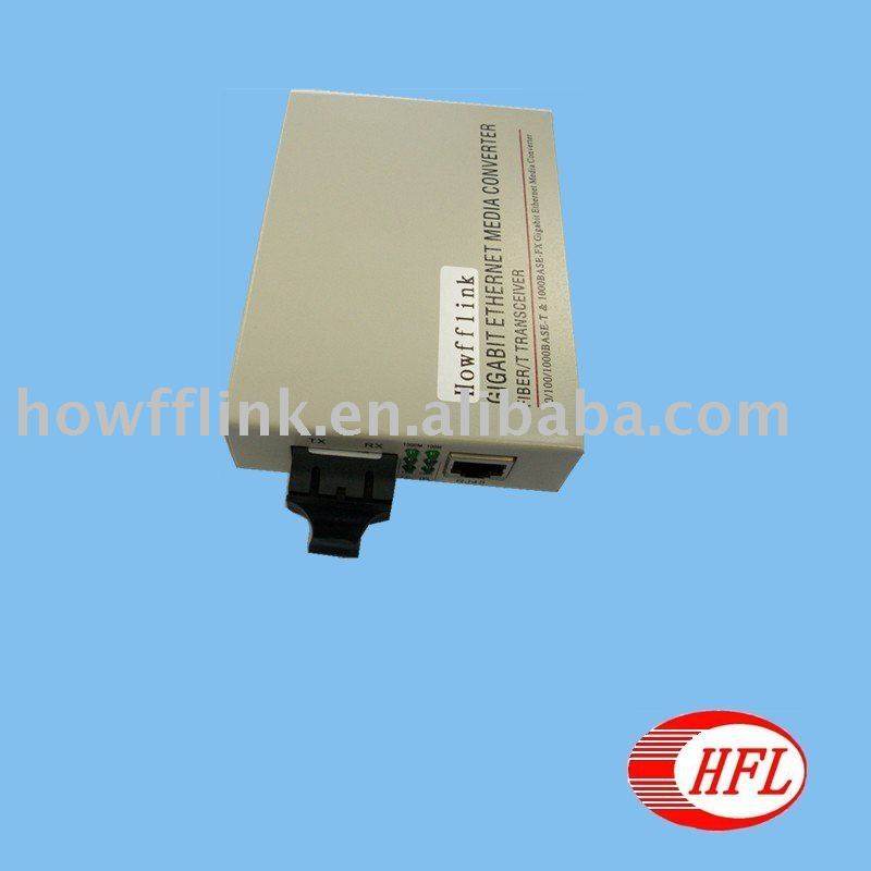 1000M SM dual fiber 20Km Media Converter - Shenzhen Howfflink High-Tech Co., Ltd. store
