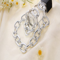 Shopping festival 2014 New fashion Exaggerated chain Alloy women chokers necklace Exquisite jewelry Free shipping !