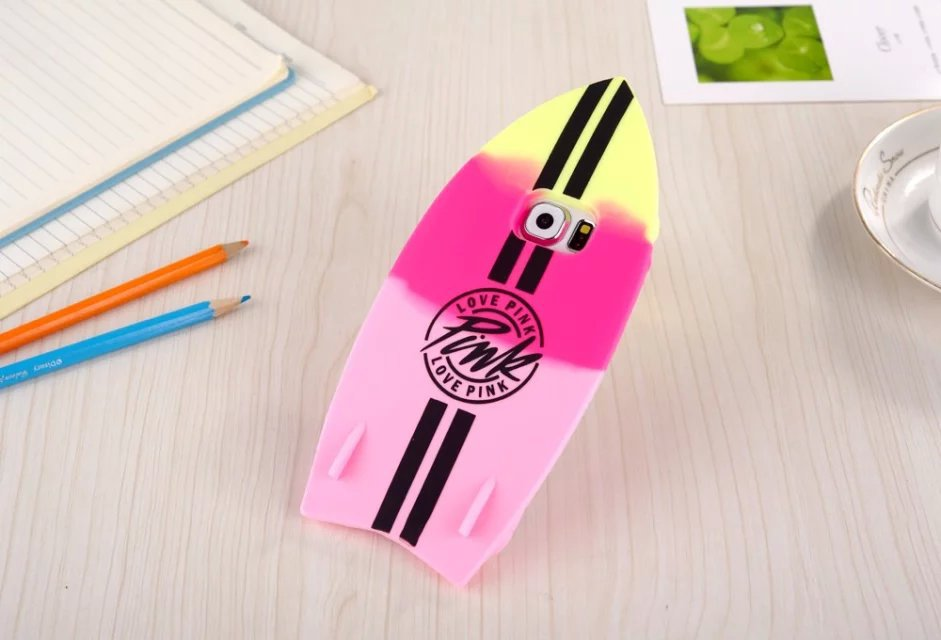 2015 For samsung S5 / S6 Samsung, the latest skis surfboard Phone Case / cool summer, silicone cell phone shell, drop(China (Mainland))