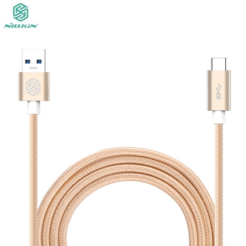 Nillkin Original Type C TO USB 3.0 cable for XiaoMI MI2 MI5 Meizu Pro 6 Huawei P9 LG G5 data cable quick fast charging(China (Mainland))
