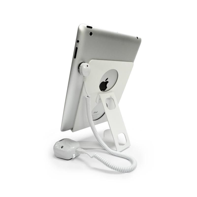 vG-STA94s11 APPLE IPAD DISPLAY STAND AND SECURITY HARNESS BUNDLE WITH SELF-ALARM TAG