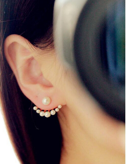 On sale Promotion Korean Lovely Girls Fashion Exquisite Simulated Pearl Stud Earrings E2591<br><br>Aliexpress