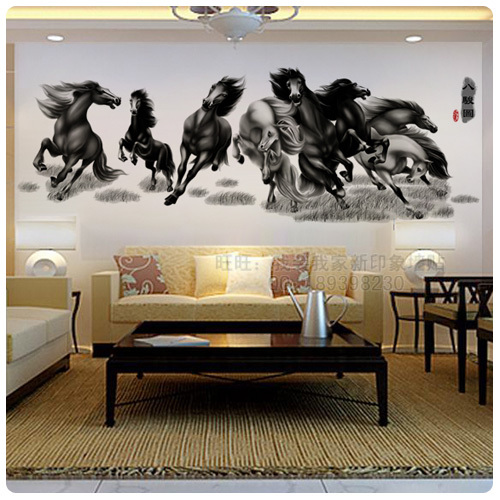 Decorative Flowers Home Decor Decorative Painting Wall Sticker New Year Home Decoration
