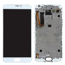 Newest High Quality Phone Screen iPartsBuy LCD Screen + Touch Screen Digitizer Assembly for Meizu MX5
