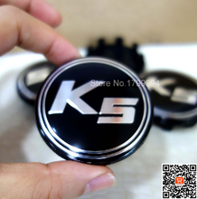 K5 Logo Wheel Center Hub Caps Rims Cap Emblem Fit For K2 K3 Cerato Rio Sportage R Cars 58mm 100x(China (Mainland))