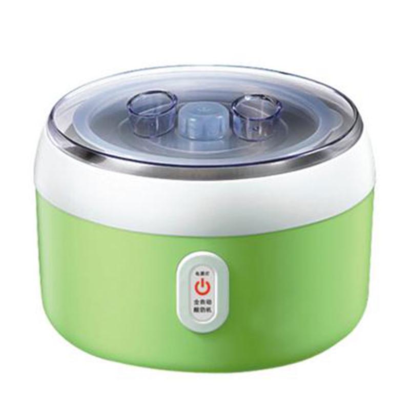 30W Electric Automatic Yogurt Maker Stainless Steel Liner Container acidophilus Milk Tools Household Yogurt Machine AC220V