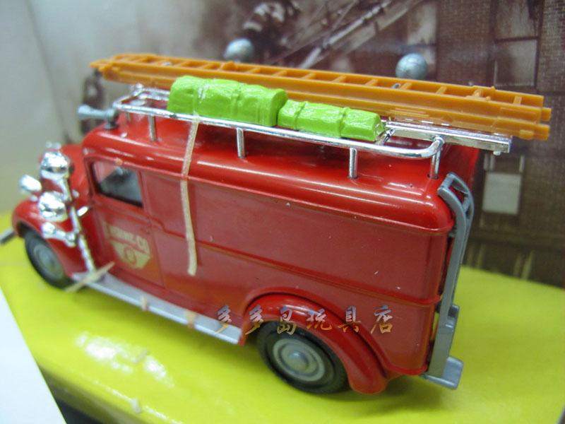 Print 1:43 MATCHBOX Matchbox hearth truck 1937 GMC Rescue Squad