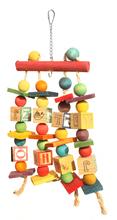 Попугай разводной клетка игрушка попугай Cockatiel волнистый попугайчик неразлучник Woodens попугаи качели Toyss