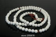 Wholesale Bulk Bleached Natural Lotus Bodhi Seeds Rosary Necklace 6/7/8/10mm Natural Plant seeds Bracelets 10pcs lot