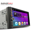 Whole sale Android 6 0 7 quad core 2din Car Radio Video taplet PC player for