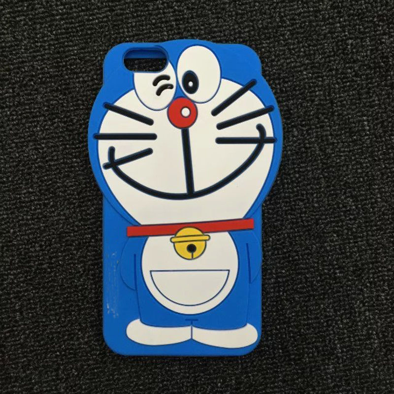 1 Pc/lot Soft Silicone 3D Cartoon Lovely Cat Cell Phone Case Back Protector for iPhone 6 6s 6s Plus 5s(China (Mainland))