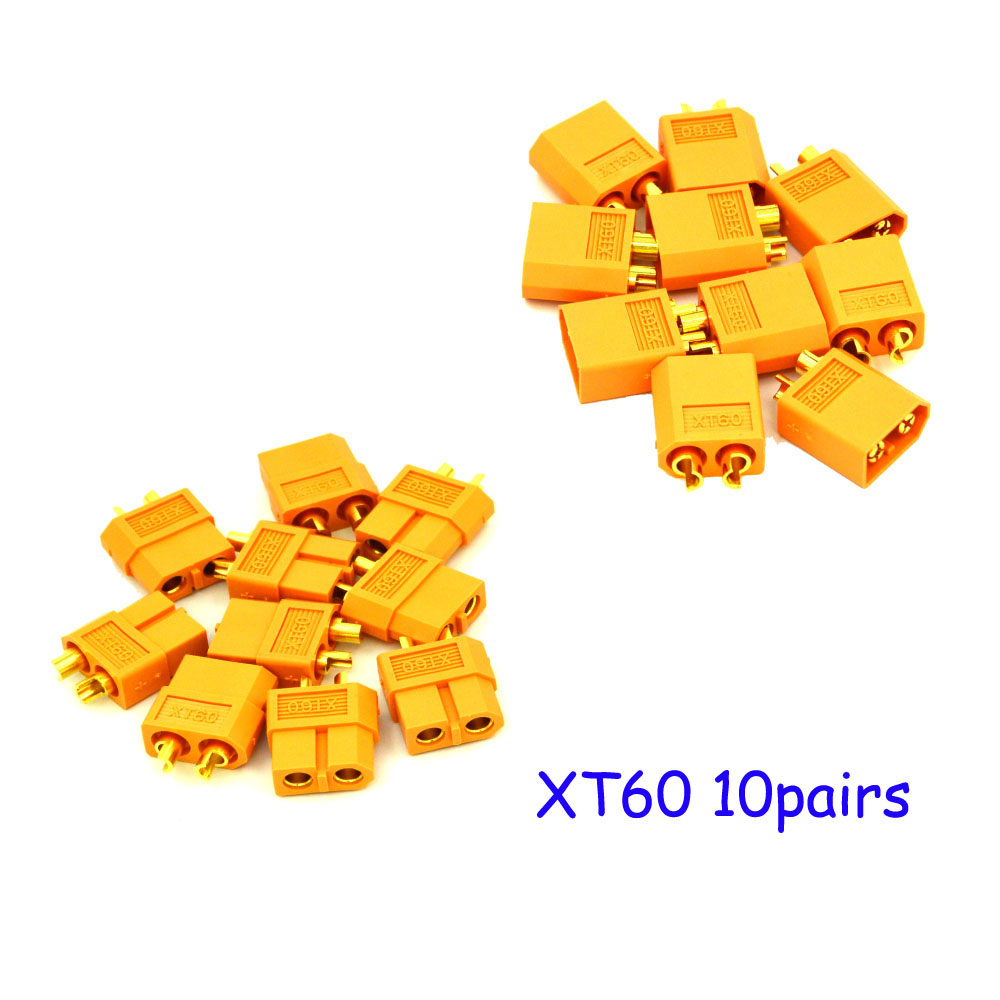 2016 Direct Selling New Value 2 Fpv Camera Hsp Brushless 10 Pairs Xt60 Connector Plug Male Female For Quadcopter Multicopter(China (Mainland))