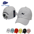 2016 Whale Embroidered Snapback Golf Casquette southern tide fish Dad Baseball cap Men summer hat baseball