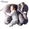 Baby Elephant Plush Toys Baby Sleep Pillow Back Cushion Elephant Doll Stuffed Toys Children Room Bed