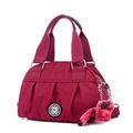 Fashion Casual Nylon Bag Outdoors Leisure Travel Recreational Ladies Durable Pleated Handbag Women Shoulder Bag Crossbody