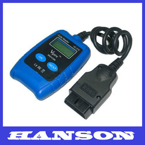 VC210 VAG CAN BUS Fault OBD OBD2 Code Reader Scanner ABS Air Bag Reset VC210  Car Accessory