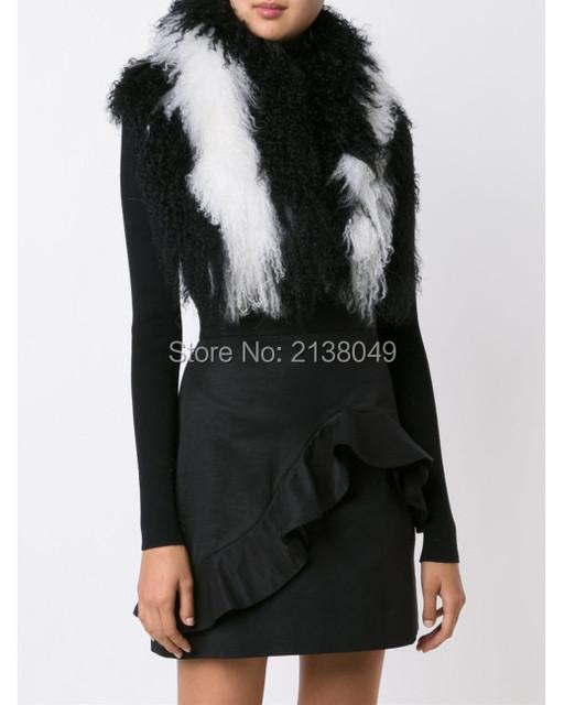 FS040 150*16 см Multicolors моды шарф девушки большой шарф женщин украл в натуральный мех бесплатная доставка